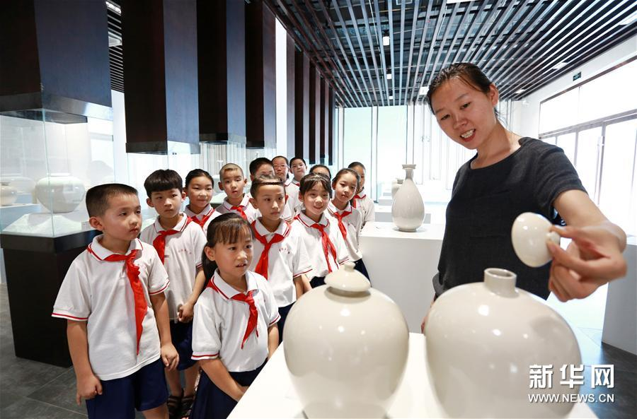(社會)(1)河北內丘:學傳統文化 過精彩暑假